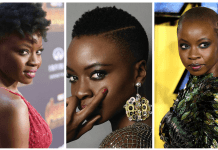 Denai Jekesai Gurira Chic Hair Cuts and bald looks