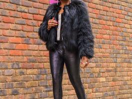 Moschino Faux Fur Coat