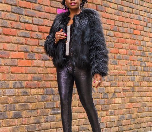 Moschino Faux Fur Coat