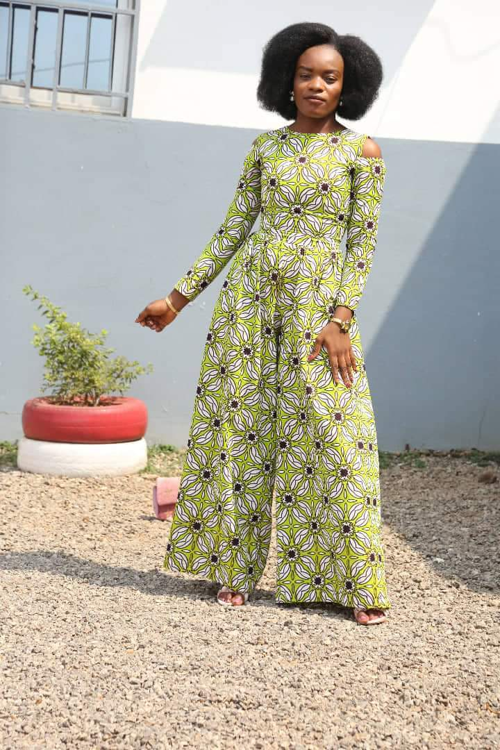 Latest African Print stylish Jumpsuits
