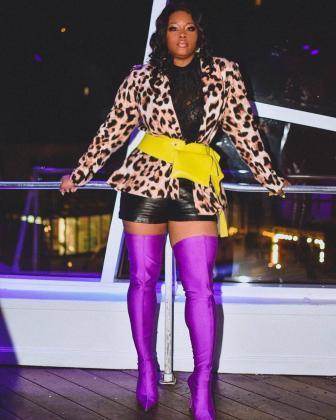 Claire Fashion Bomb Daily Balenciaga Boots