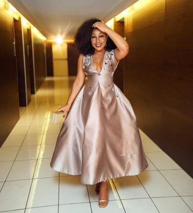 Rita Dominic's Iconic dresses