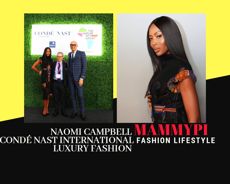 Conde Nast International Luxury Fashion Guest Speaker Naomi Campbell