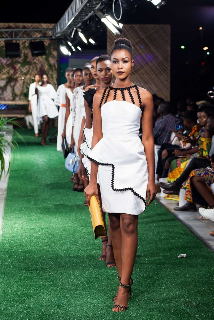 Audrey Monkam Accra Fashion Week 2019