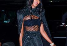 Top Model Naomi Campbell
