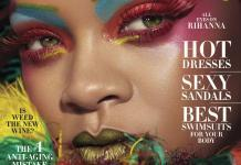 Rihanna Covers Harpers-Bazaar-US