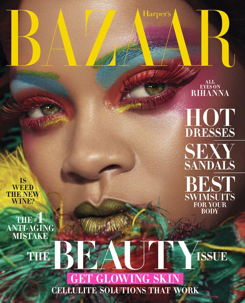 Singer Riri Covers Harper's Bazaar May 2019 Issue