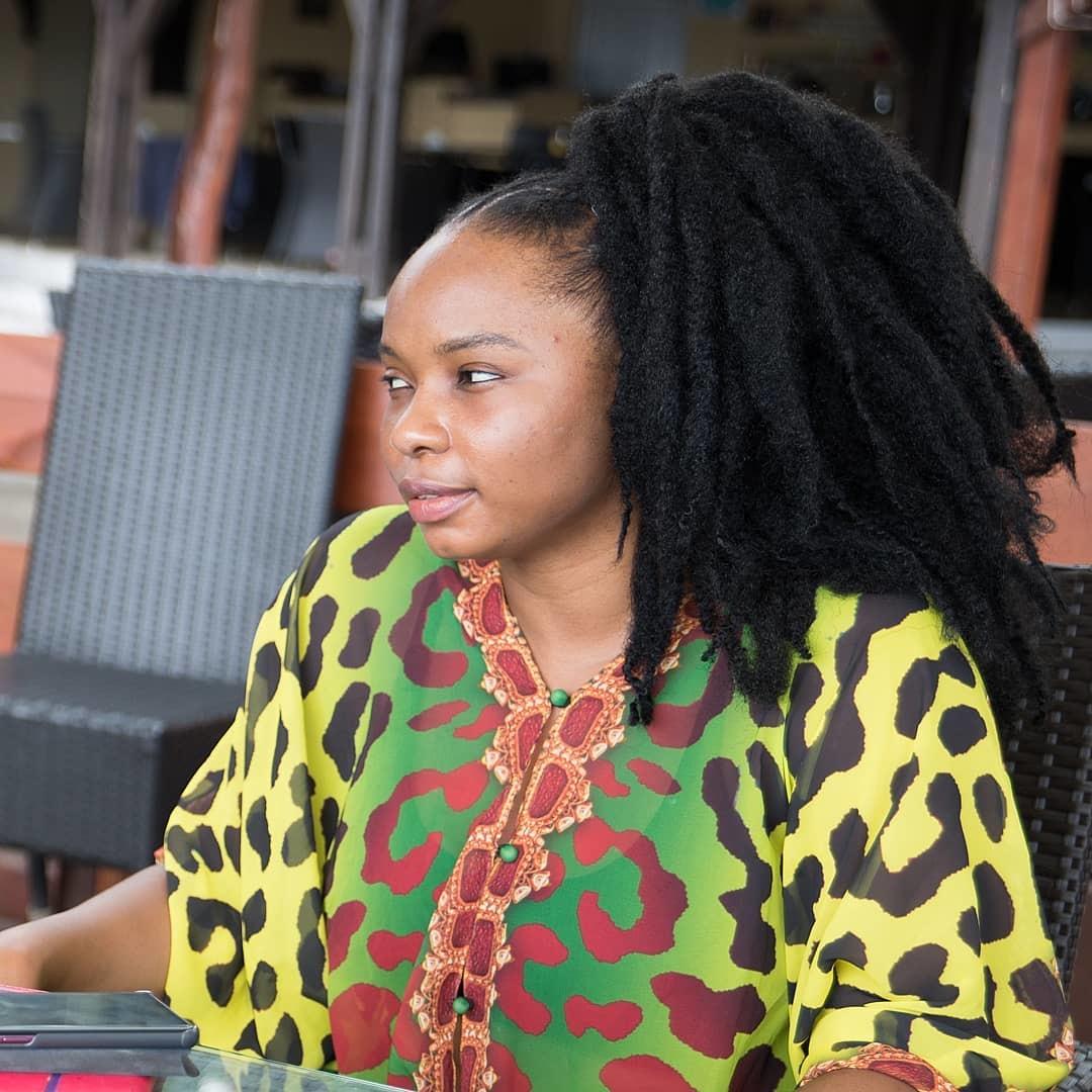 Yemi Alade Styles Sai Sankoh Goddess caftan