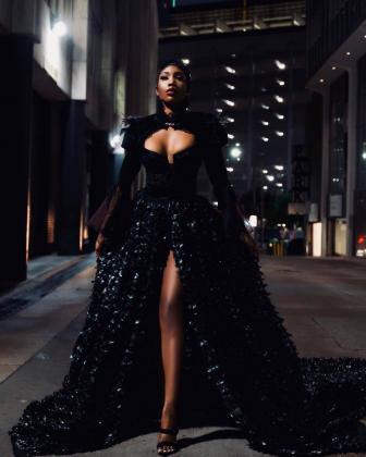 Sai Sankoh in All Haute Couture Dress