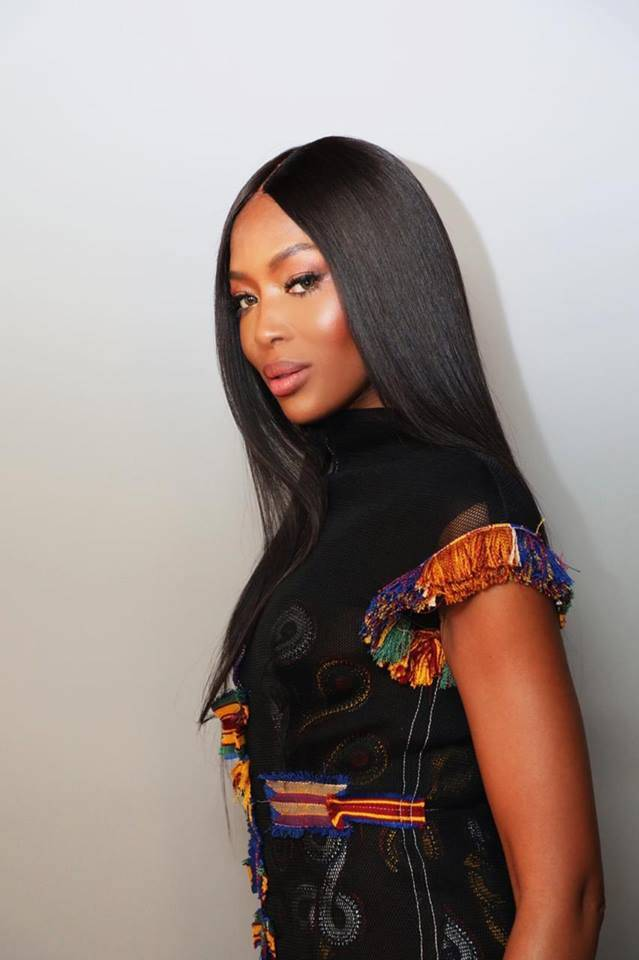 Naomi Campbell at Conde Nast International Luxury Fashion.