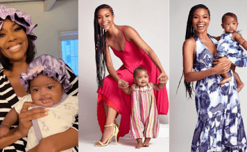 Gabrielle Union Wade & Daughter Kaava James Union Wade