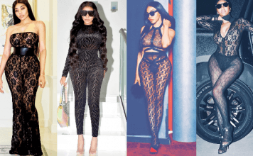 Dencia Styles See-Through Sheer Jumpsuit