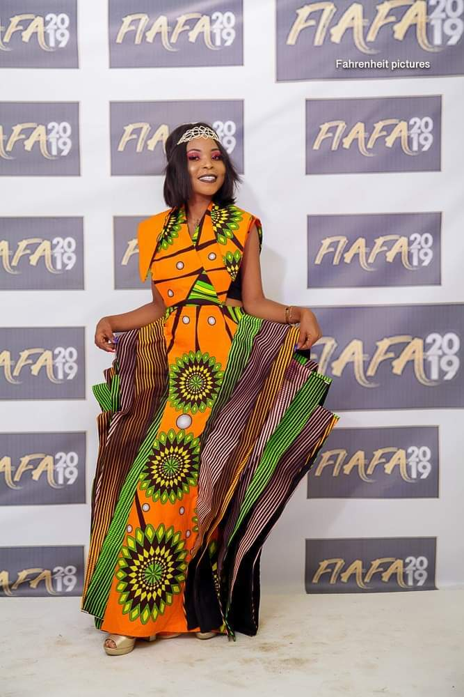 Cameroon fashion dress