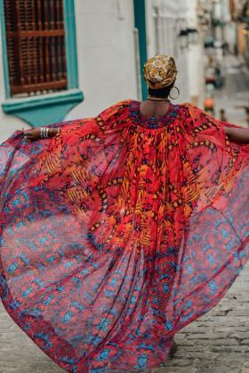 Multi Print Kaftan resort 2019