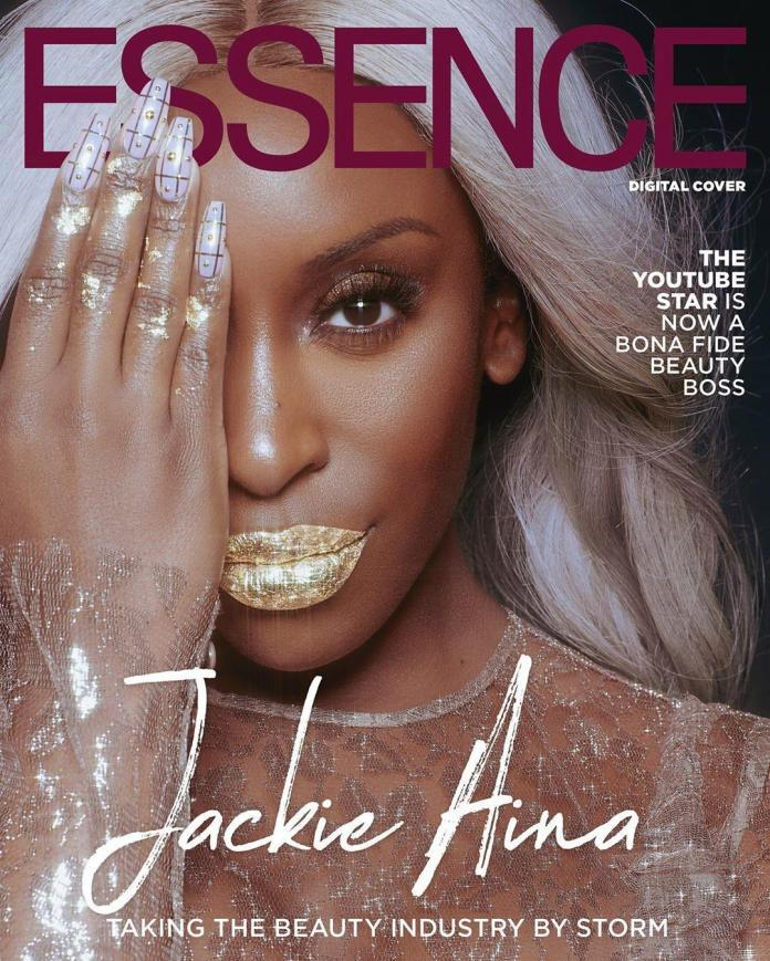 Jackie Aina On Essence Magazine June 2019
