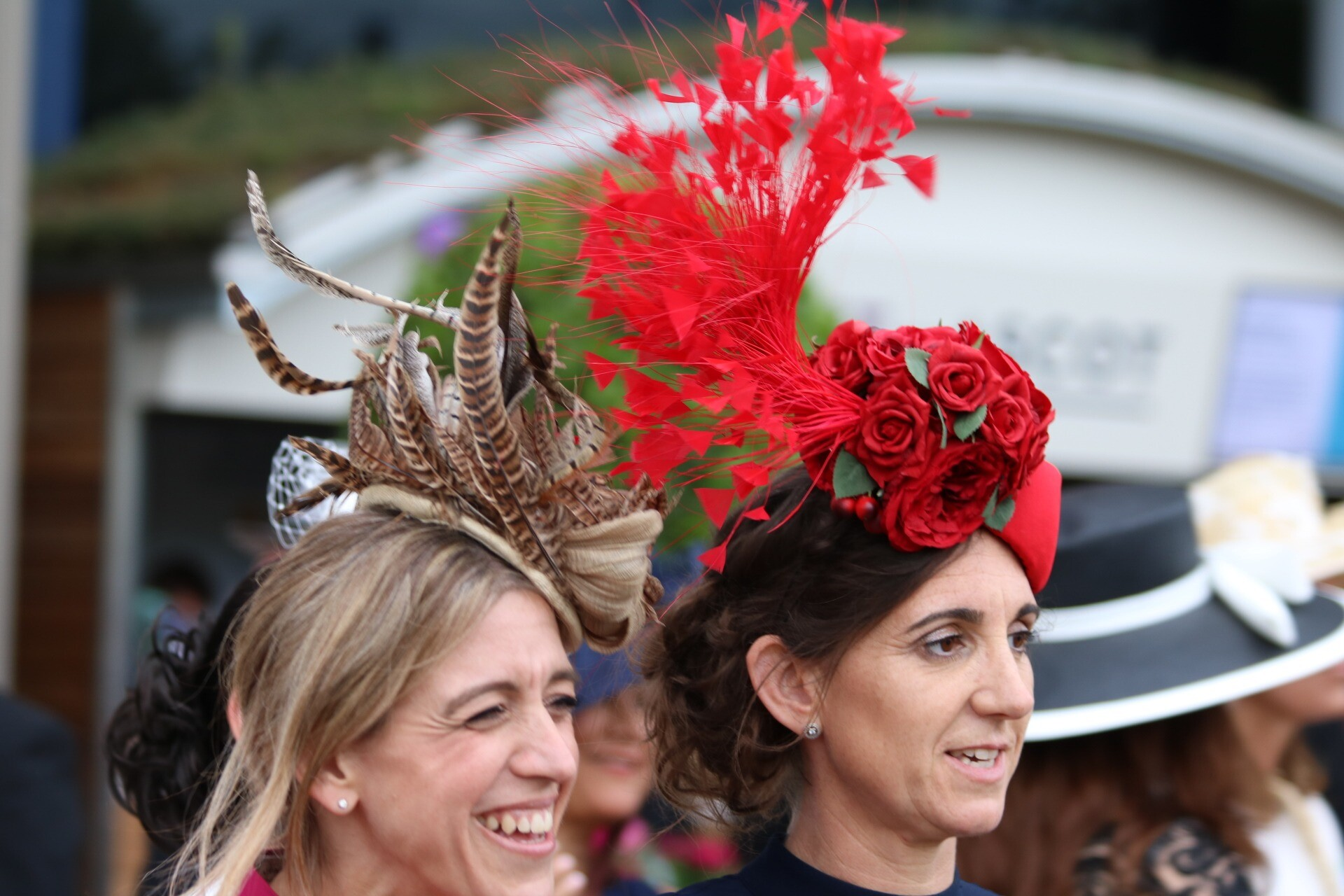 Ladies Day Statement Hats and Fascinators