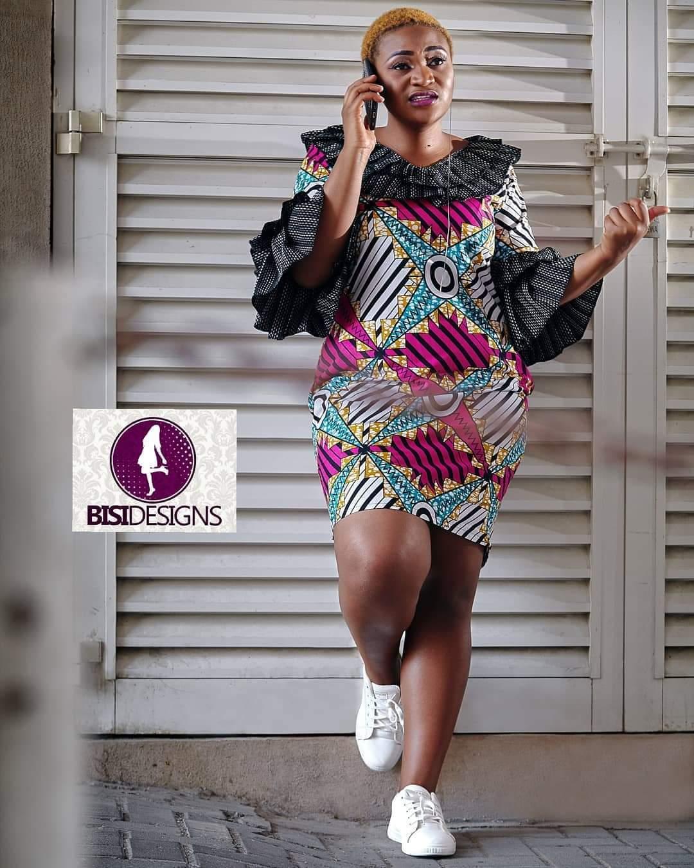 Bisi Designs Ankara dresses