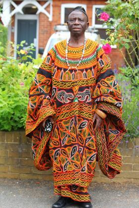 Cameroon- Bamenda Dress Toghu Print Galore