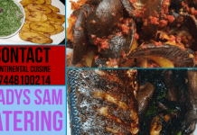 Freelance African Cuisine London