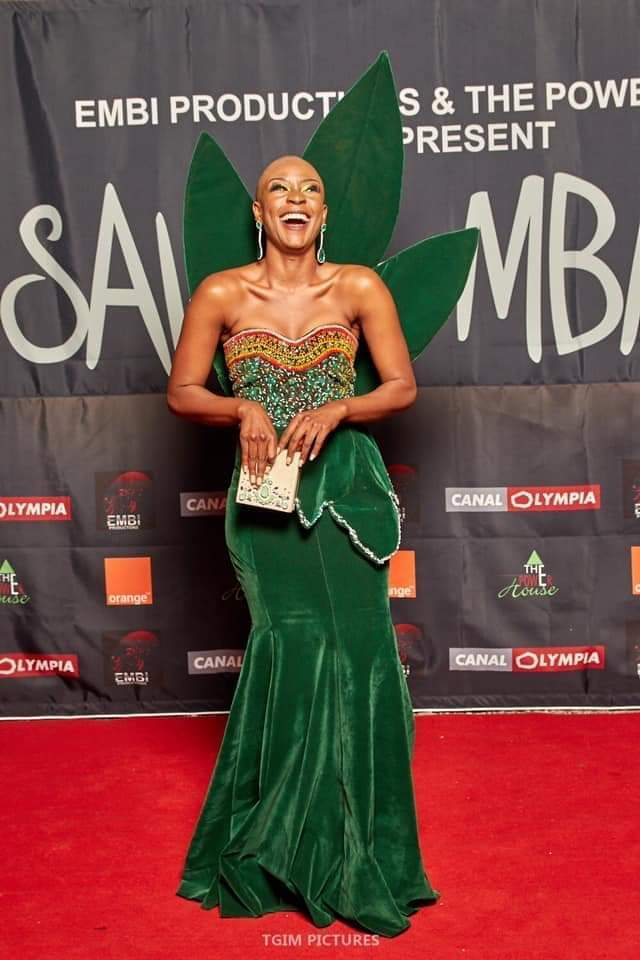 Saving Mbango Movie Premiere Red Carpet