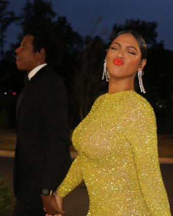 Beyoncé Knowles Carter and Jay-Z
