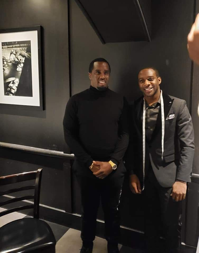Sean Combs and Daniel Mofor