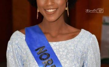 Miss Cameroon Audrey Nabila Monkam