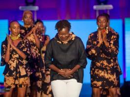 Kenyan designer Peggy Onyango
