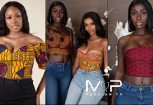 Ankara Crop Tops