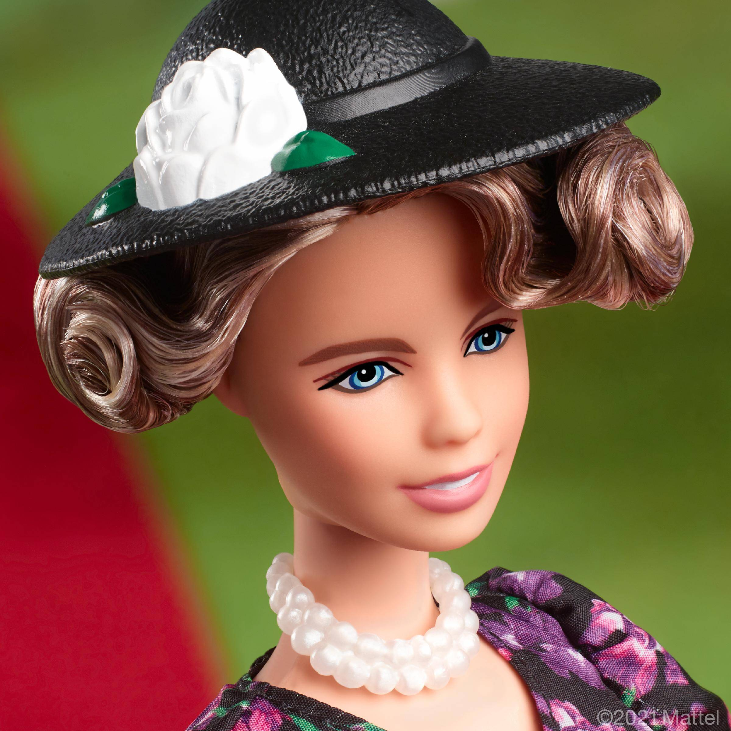 Awesome News: Barbie Honors International Women's Day With A Eleanor Roosevelt Beautiful Doll